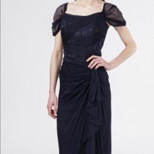 TADASHI SHOJI Long silk evening dress